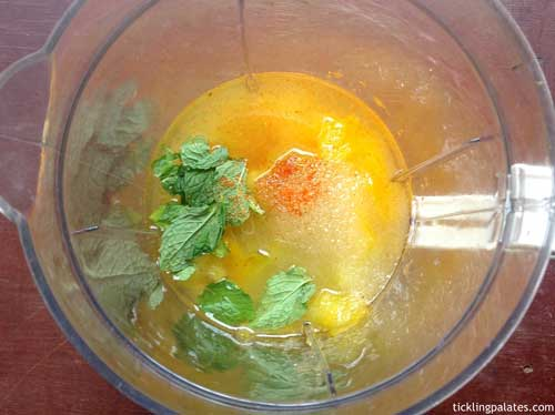 how to make mango jaljeera step-3