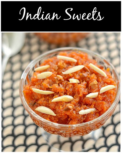 traditional indian sweet recipes
