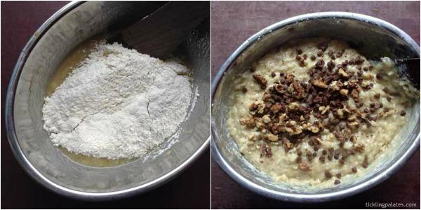 Eggless banana bread step-3