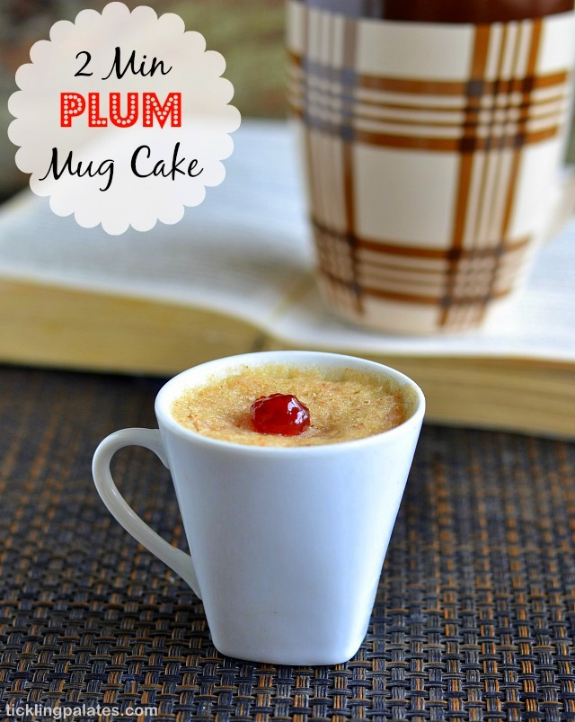 Microwave Eggless Mug Cake Recipe