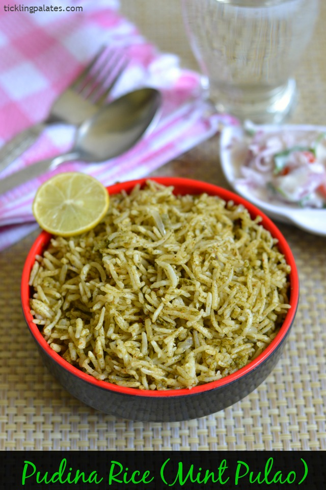 Pudina-Rice-Recipe
