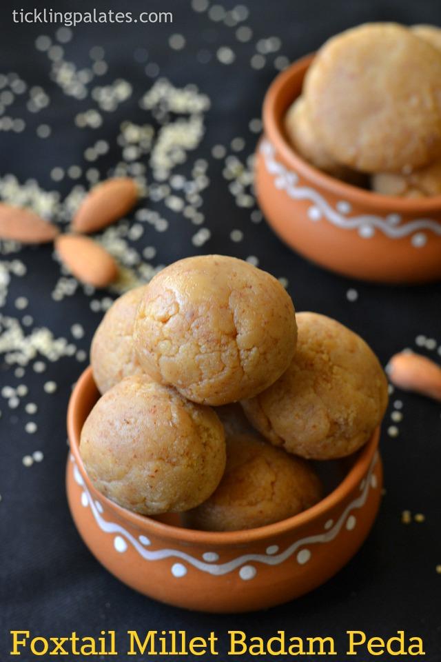 thinai-badam-laddu-recipe