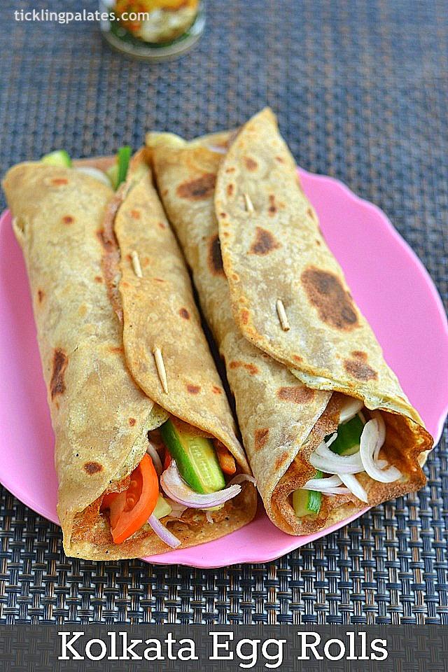 Kolkata Egg Rolls Recipe