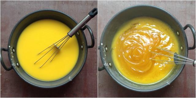 How to make Custard Powder Halwa