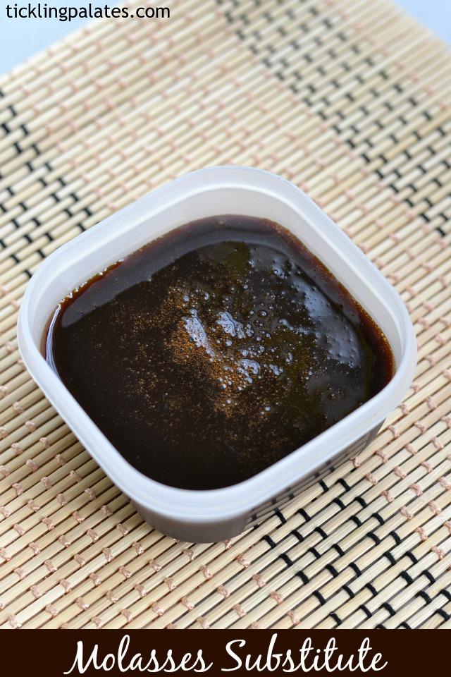 Molasses Substitute Recipe